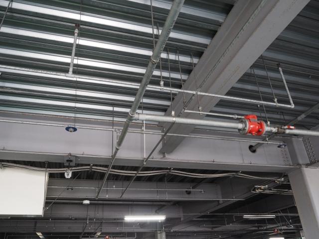 マンション 機械式駐車場 二酸化炭素消火設備